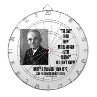 Harry Truman Only Thing New History You Don't Know Dartboard With Darts
