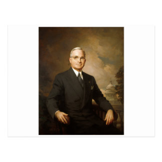 Harry Truman Postcard