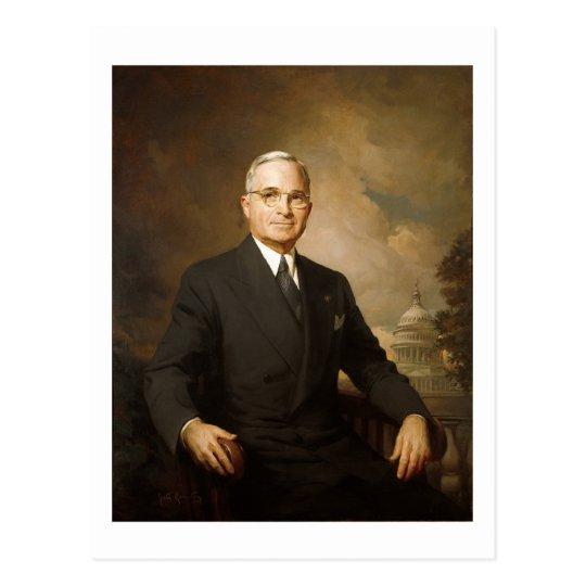Harry Truman Postcard