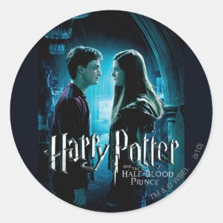 Harry y Ginny 1 Pegatinas Redondas