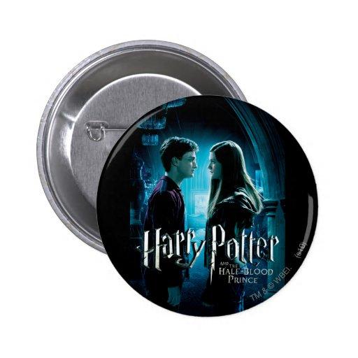 Harry y Ginny 1 Pin Redondo De 2 Pulgadas