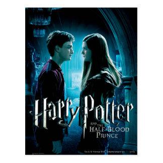 Harry y Ginny 1 Postal