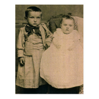 Harry y Rosie, niños de Hal y de Lottie ZARFOS Tarjetas Postales