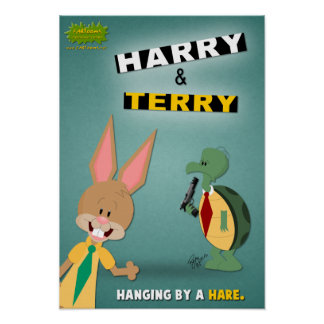 Harry y Terry Poster