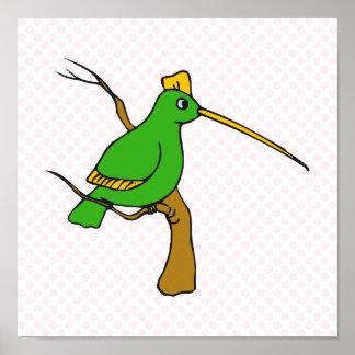 Harryette Hummingbird Poster