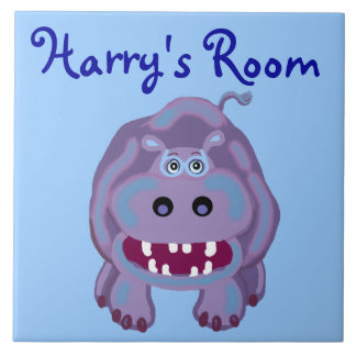 Harry's Room Large Square Tile