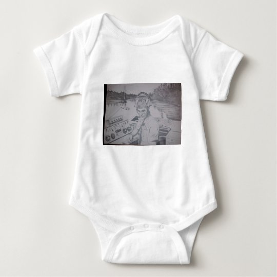 Hart art drawings old and new 044 baby bodysuit