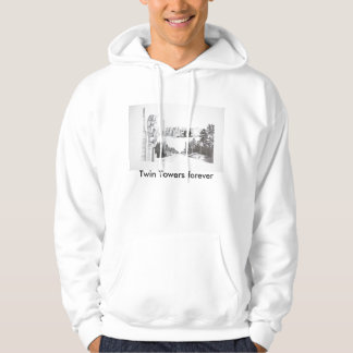 Hart art drawings old and new 061, Twin Towers ... Pullover