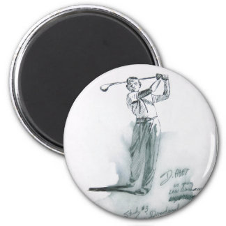 Hart art drawings old and new 195 2 inch round magnet