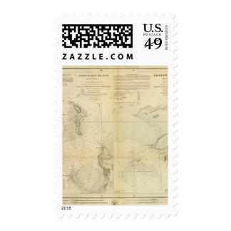 Hart & City Island, Sachem's Head Harbor Stamp