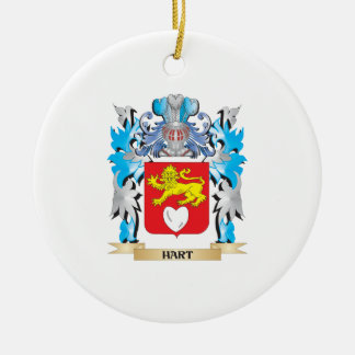 Hart Coat of Arms - Family Crest Ornament