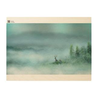 Hart Mist Wood Wall Art