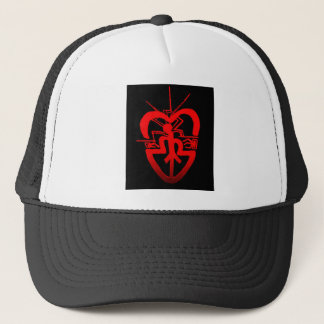 hart radio comunication love trucker hat
