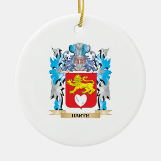 Harte Coat of Arms - Family Crest Ornament