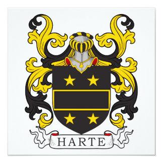 Harte Coat of Arms I Card