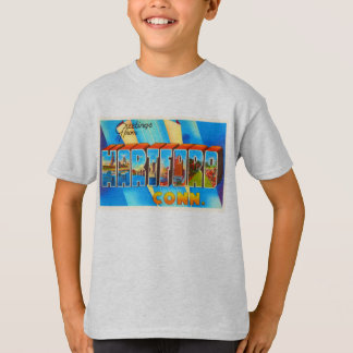 Hartford Connecticut CT Vintage Travel Souvenir T-Shirt