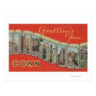 Hartford, Connecticut - escenas grandes 4 de la Tarjetas Postales
