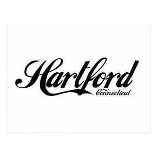 Hartford Connecticut Tarjeta Postal