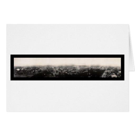 Hartford CT Panoramic Photo 1913 Cards