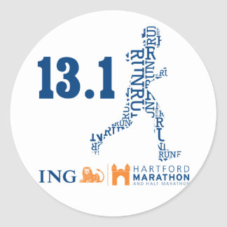 Hartford Half-Marathon: 13.1 Stickers