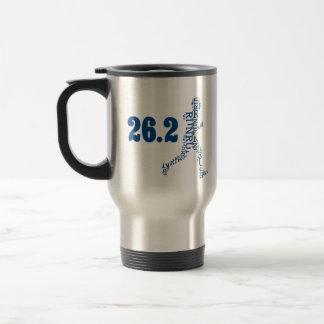 Hartford Marathon: 26.2 Travel Mug
