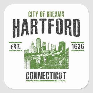 Hartford Square Sticker