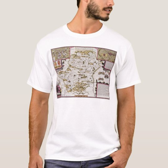 Hartfordshire and the situation of Hartford T-Shirt