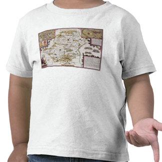 Hartfordshire y la situación de Hartford Camiseta