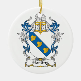 Harting Family Crest Ornament