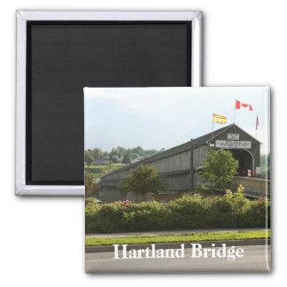 Hartland Bridge Longest Covered Bridge Magnet
