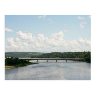Hartland Bridge Longest Covered Bridge Postcard