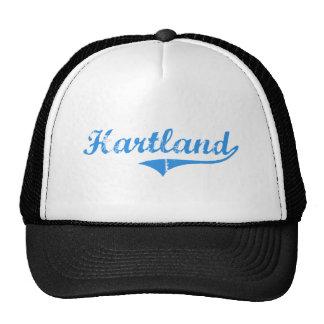 Hartland Maine Classic Design Mesh Hat