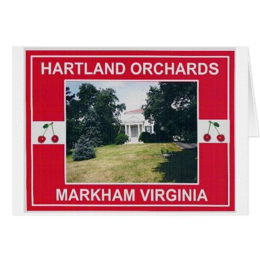 HARTLAND ORCHARDS GREETING CARD