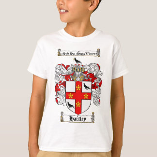 HARTLEY FAMILY CREST -  HARTLEY COAT OF ARMS T-Shirt
