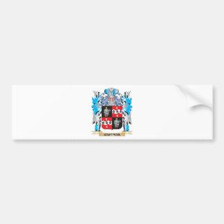 Hartman Coat of Arms - Family Crest Car Bumper Sticker