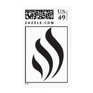 Hartman monogram postage