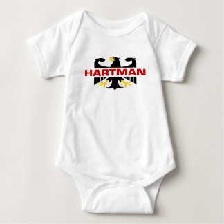 Hartman Surname Baby Bodysuit