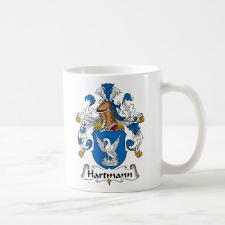 Hartmann Family Crest Coffee Mug