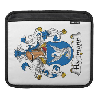 Hartmann Family Crest iPad Sleeve
