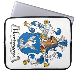 Hartmann Family Crest Laptop Computer Sleeve