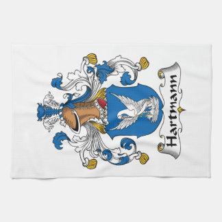 Hartmann Family Crest Towel