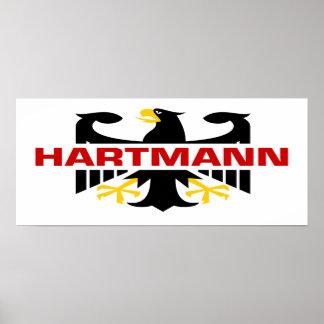 Hartmann Surname Print