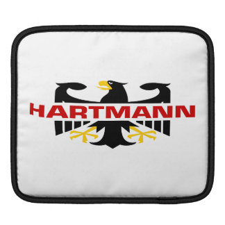 Hartmann Surname Sleeves For iPads
