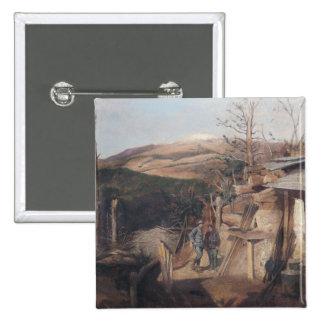 Hartmanswillerkopf, visión desde Roche-Sermet, 191 Pin