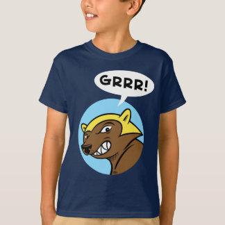 """Harts Pass """"GRRR!"""" Tee: Blue T-Shirt"""