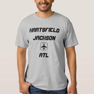 Hartsfield Jackson Atlanta, Georgia Airport Code Tee Shirt