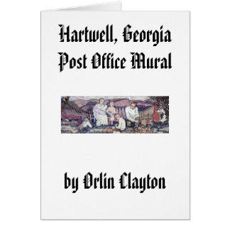 Hartwell, mural de la oficina de correos de Georgi Tarjeton