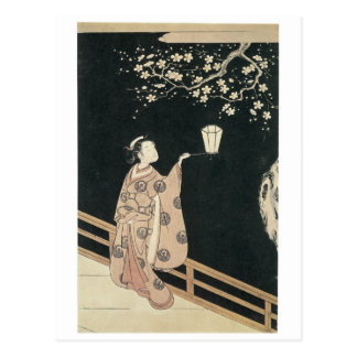 Harunobu Plum Blossom 1760 Art Prints Postcard