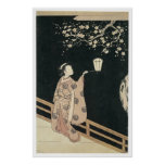 Harunobu Plum Blossom 1760 Art Prints Posters
