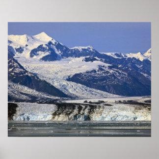 Harvard Glacier in College Fjord, Alaska 2 Poster